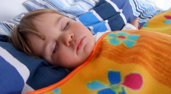 A evolução do sono das crianças