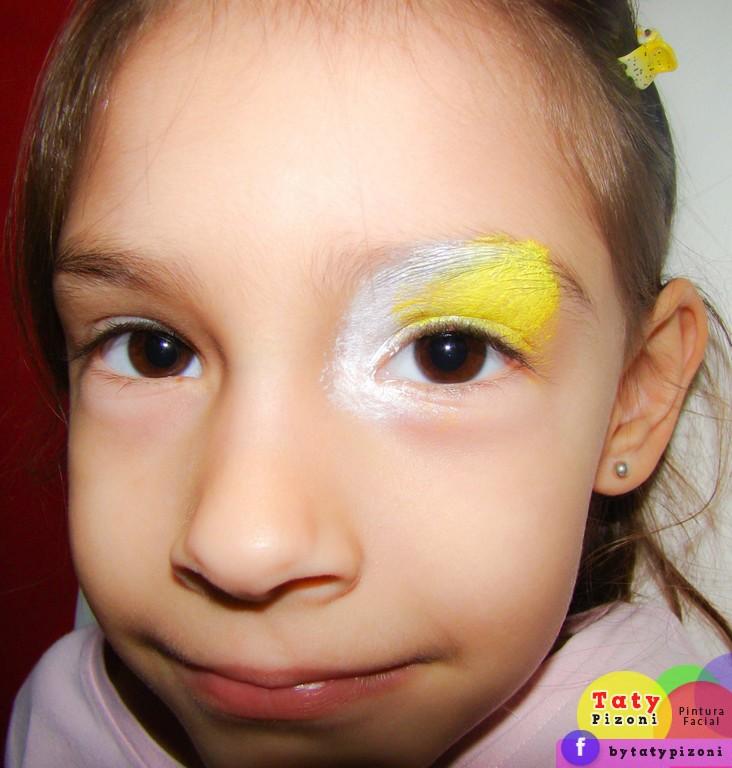 Maquiam artística para menina Copa do Mundo