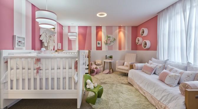 7 ideias para montar quarto de bebê para menina