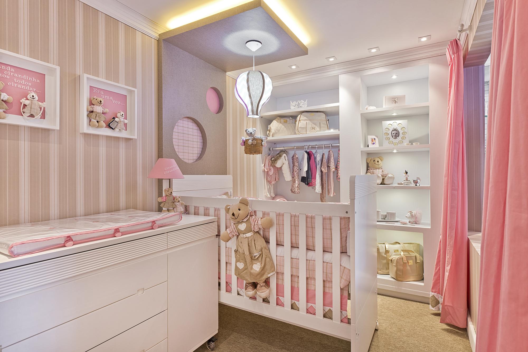 7 ideias para montar quarto de bebê para menina Mamãe  ~ Quarto Planejado De Bebe