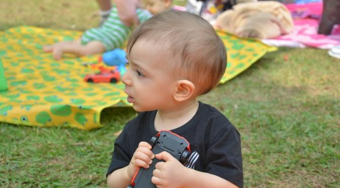 Comer, andar e falar: os três primeiros anos
