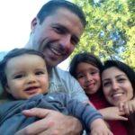 Matheus, Fabio (o papai famoso), Duda e Andrea