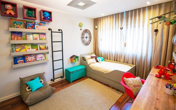 Dicas para uma decoração lúdica de quarto infantil