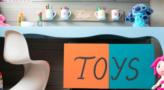 Como organizar os brinquedos mesmo com pouco espaço