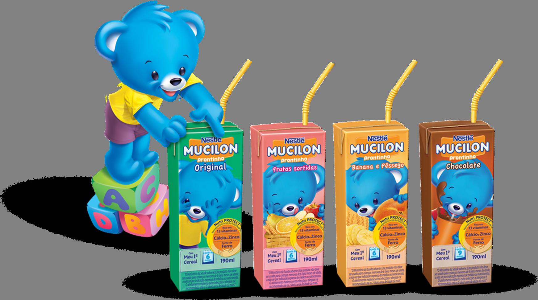 Mucilon Prontinho da Nestlé