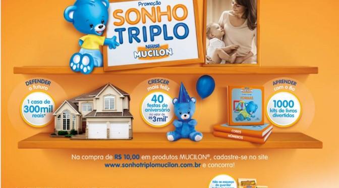 Promoção Sonho Triplo Mucilon