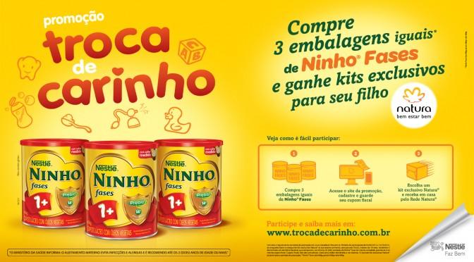 Promoção: compre NINHO Fases e ganhe um kit Natura