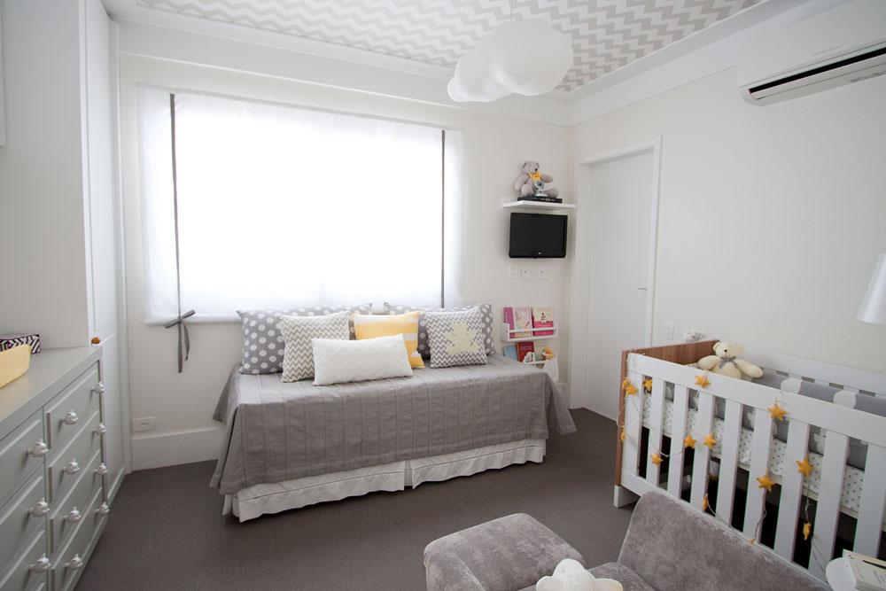 Projeto de quarto de bebê do escritório Toda Arquitetura