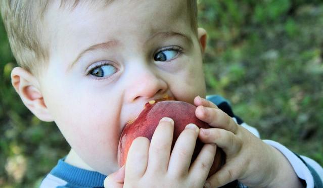 Foto para matéria sobre o tema meu filho não come.