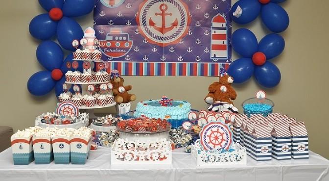 Festa infantil no tema Marinheiro