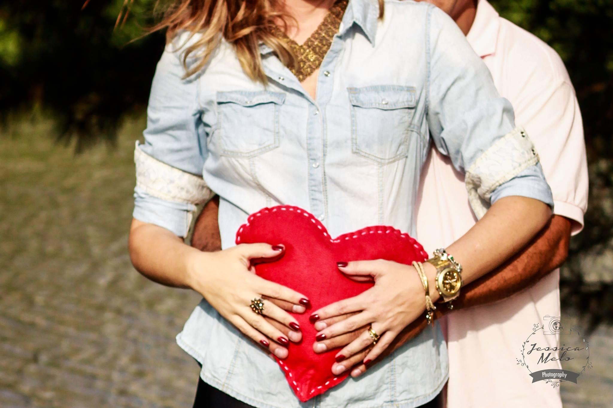 Ensaio fotográfico gestante do coração (adoção)