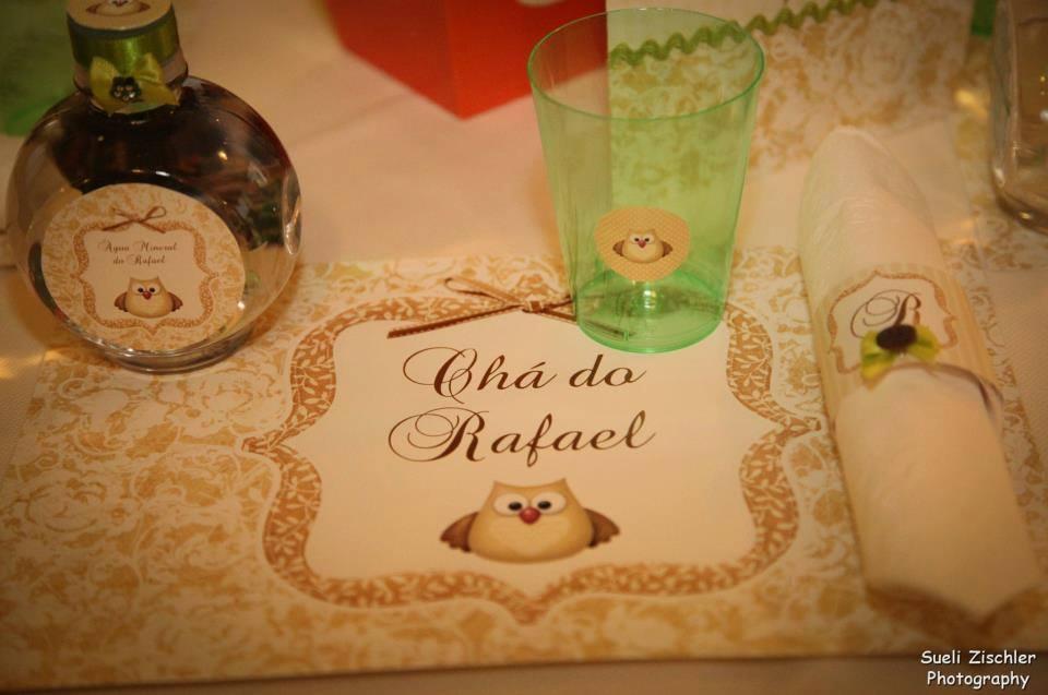 Chá de Bebê corujas (corujando Rafael)