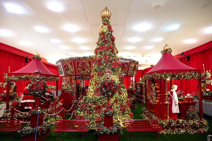 Decoração de Natal do Shopping Center Norte