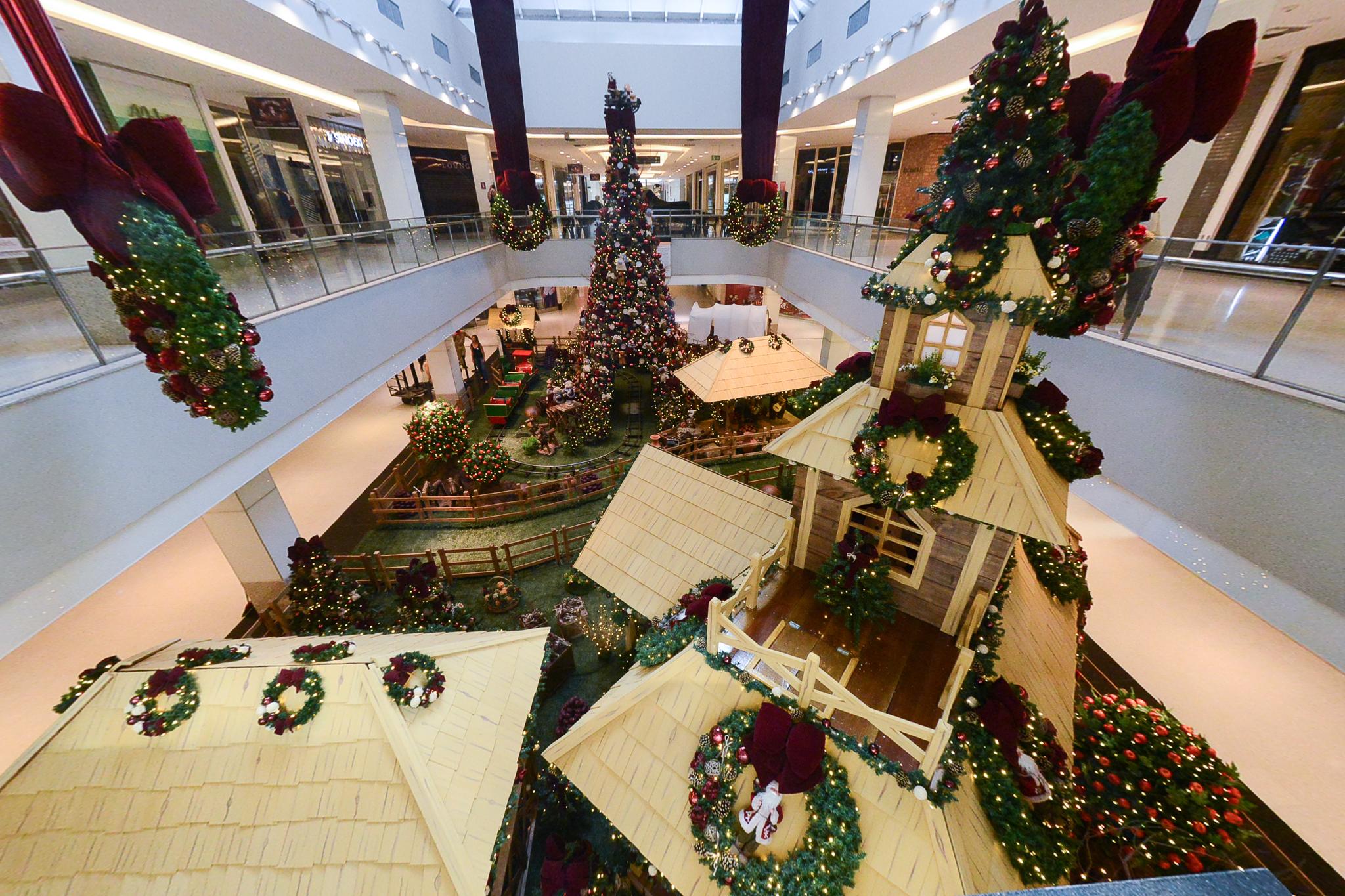 Decoração de Natal do Shopping Recife