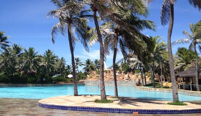 Minha viagem ao Beach Park em Fortaleza