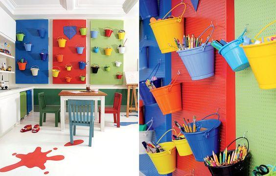10 ideias para montar uma brinquedoteca em casa