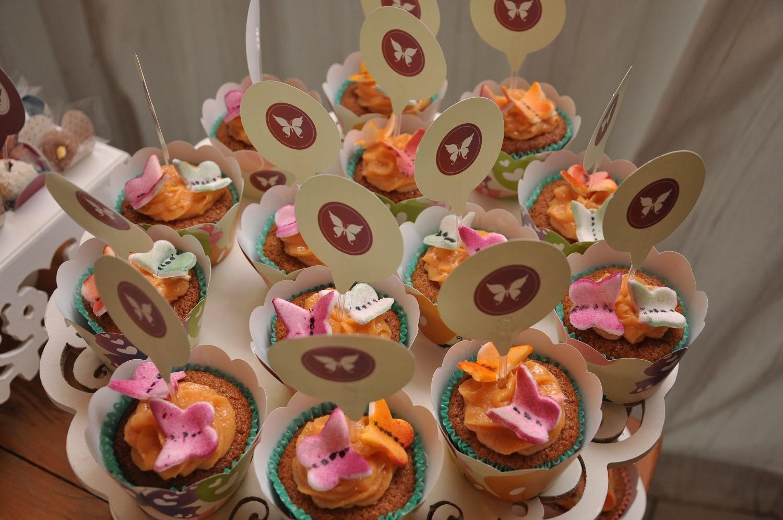 Cupcakes funcionais da Myrtha Caldart