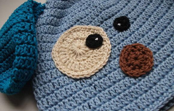 Para aquecer o bebê no inverno: peças em crochê!