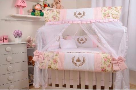 Kit berço Princesa para bebês meninas