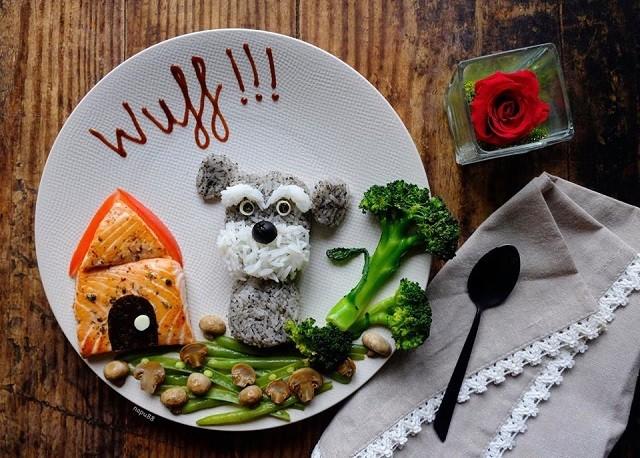 comida divertida