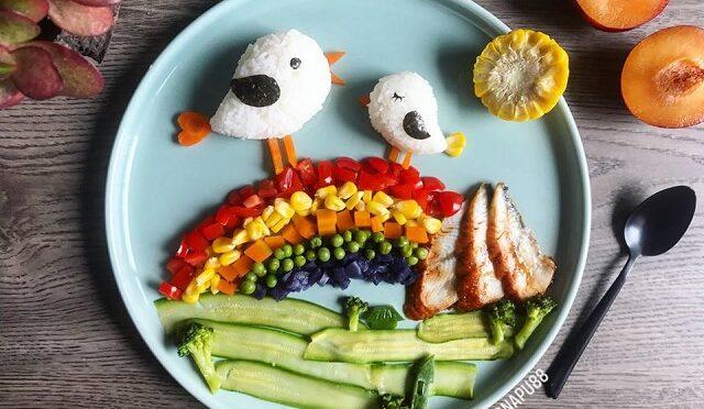 Comida divertida: mãe cria refeições que parecem arte